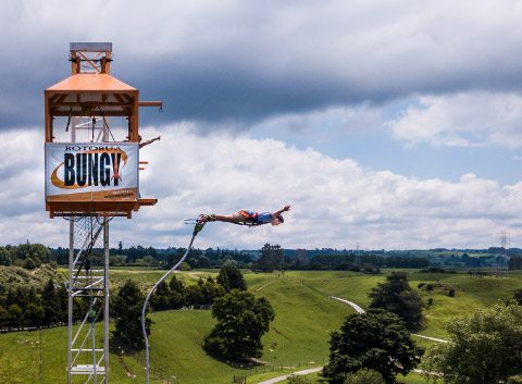 Velocity Valley bungy jump