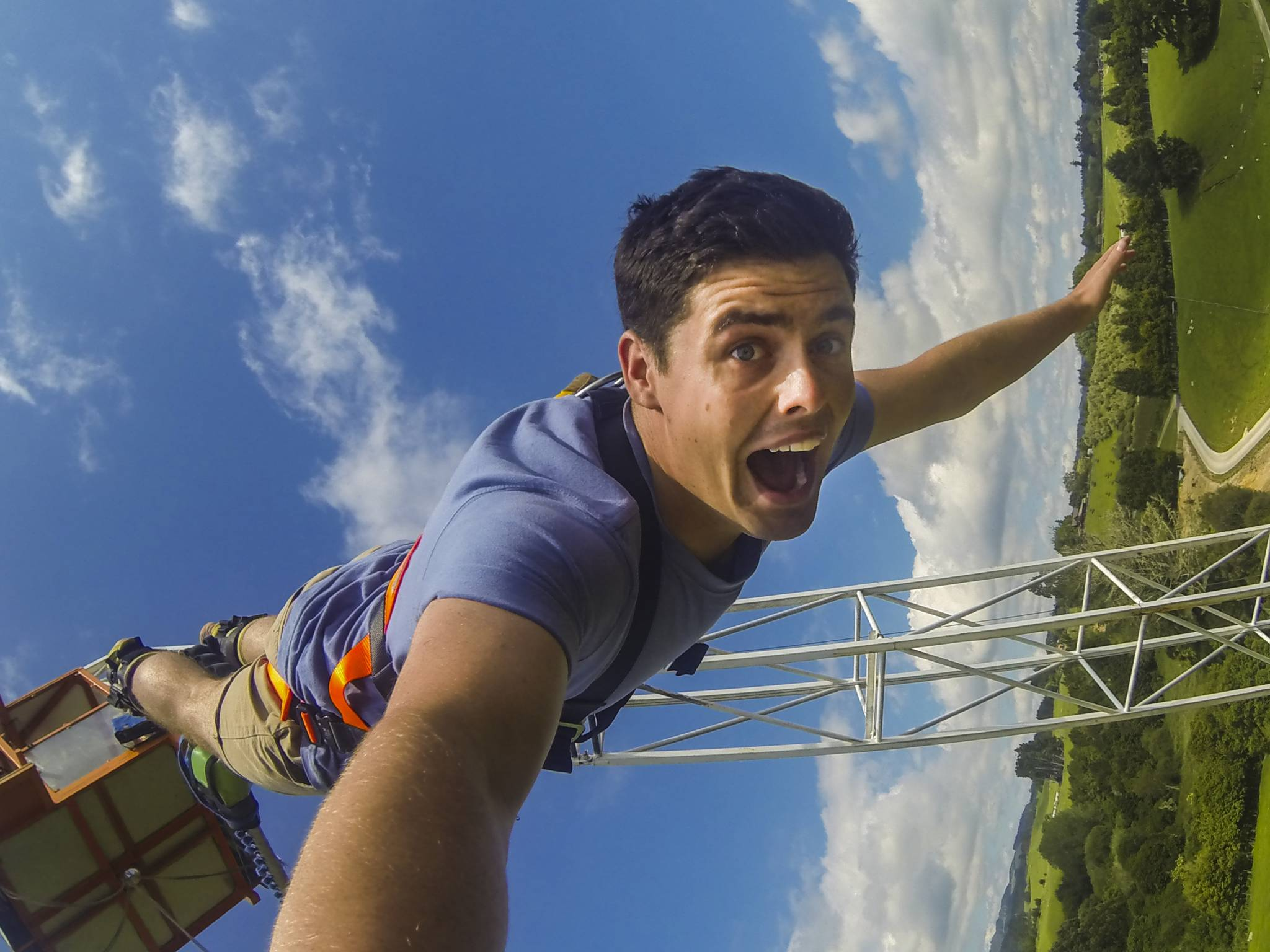 Velocity Valley Adventure Park's Bungy Jump