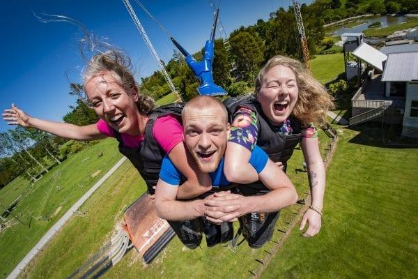 Swoop swing Rotorua activity