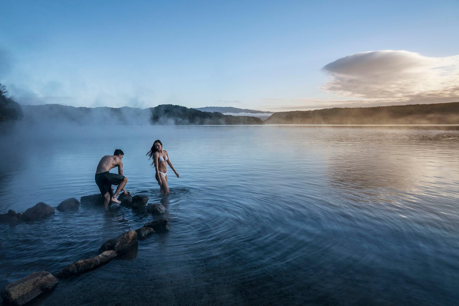 Hot Water Beach Lake Tarawera