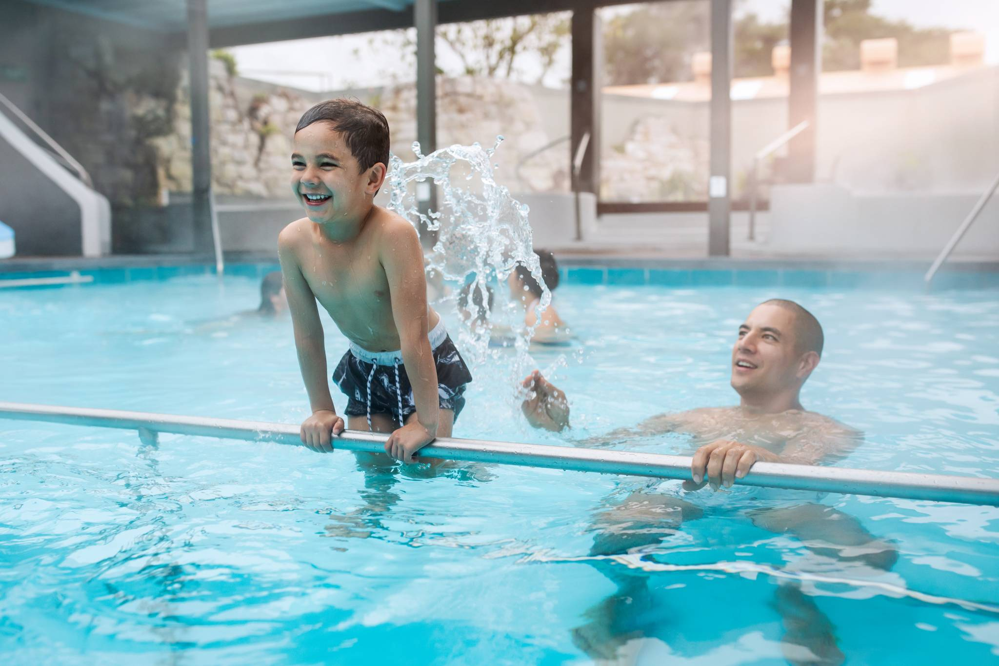 Polynesian Spa & Velocity Valley Family Pools package Rotorua