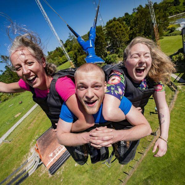 Velocity Valley Rotorua Swoop Giant Swing Local Activities