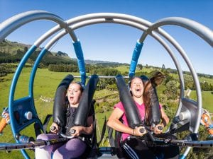 Velocity Valley V Force Ride with Riders